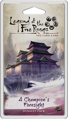 Legend of the Five Rings LCG A Champion's Foresight Dynasty Pack