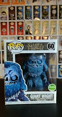 Funko Pop Game Of Thrones Giant Wight 6in ECCC 2018 Spring Convention Exclusive