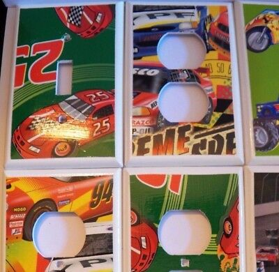 CARS / RACING / TRUCKS - Switchplate Covers Light Switch Cover Electrical Outlet