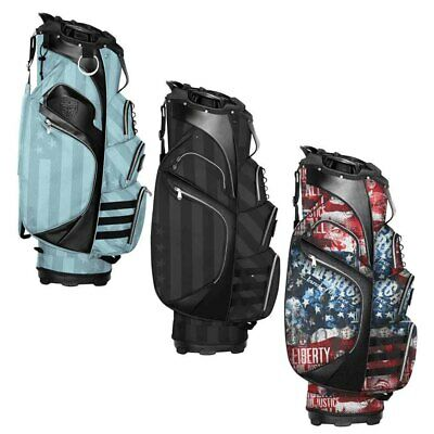 New Subtle Patriot Golf Cart Bag 15-way Top Salesman Samples - Choose Color!