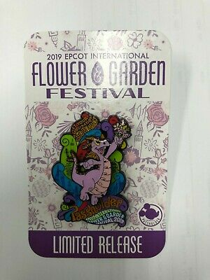 Disney Epcot Flower and Garden Festival 2019 Annual Passholder Figment Pin LR