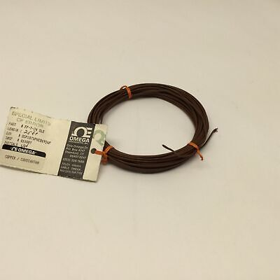 """Omega FF-T-24-SLE Type """"T"""" Thermocouple Wire Special Limits of Error 25 Feet"""