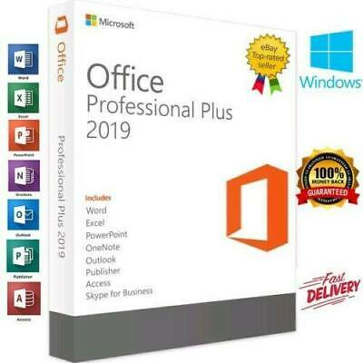 Microsoft Office 2019 Professional Plus🔥 Product License Key Lifetime 32/64 🔥