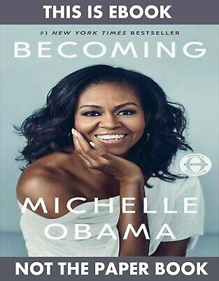 [EßOOK] Becoming by Michelle Obama: KINDLE edition 2019  instant Delivery