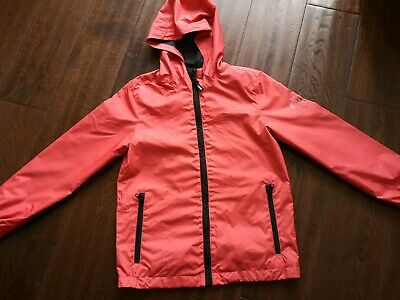 Girls Dkny Rain Coat JACKET  AGE 10 YRS , Designer, Girls Clothes Kids ORANGE