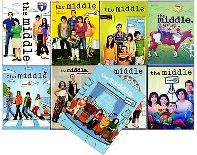 THE MIDDLE Complete Series Seasons 1-9 (27 Disc DVD Set) 1 2 3 4 5 6 7 8 9 NEW!