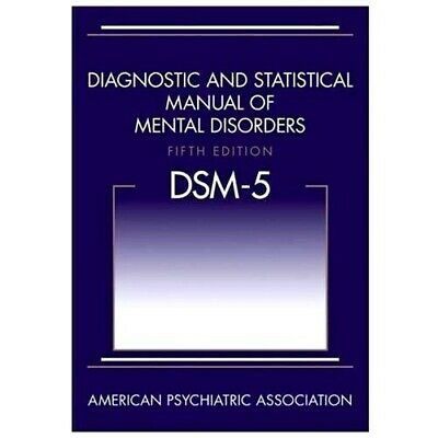 HARDCOVER DSM-5 Diagnostic and Statistical Manual of Mental Disorders Fast Ship