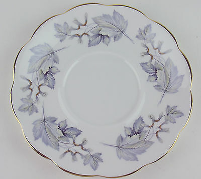 Tray / Saucer Only for under round gravy boat Royal Albert Silver Maple