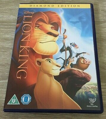 Disney The Lion King (Dvd, 2011) No 32 In Gold On Spine Kids Family Fun Film Dvd