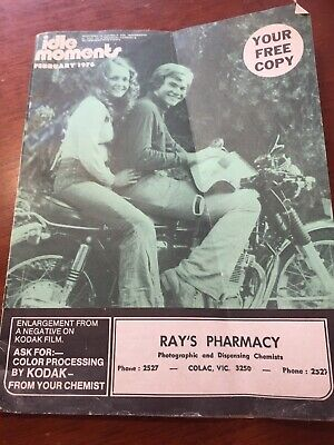 1976 Feb Idle Moments Friendly Chemist magazine Colac