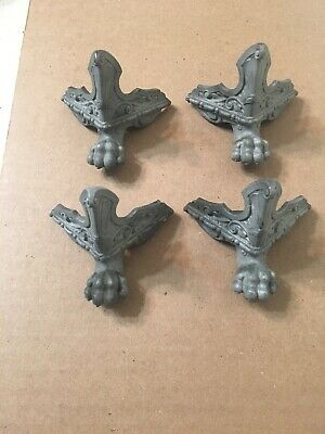 Set Of 4  Ansonia New Haven Style Statue Or Iron Case Clock Paw Feet