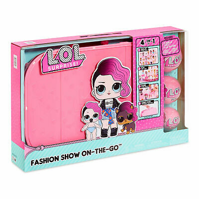 L.O.L Surprise! Fashion Show On-The-Go Storage Playset