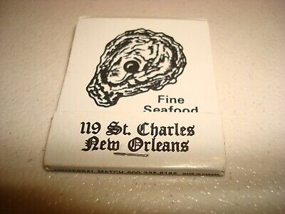 Rare Vintage Matches The Pearl Restaurant New Orleans Louisiana USA Original!