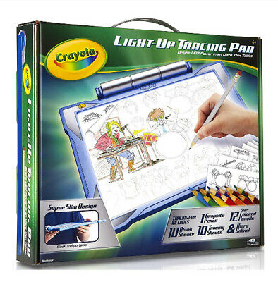 Kids Light-Up Tracing Pad Light Board Art Drawing Crafts Boys KID Toys GIFT Xmas