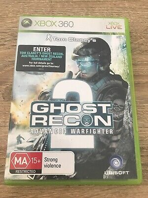 Tom Clancys Ghost Recon Advanced Warfighter 2 Xbox 360 Game USED