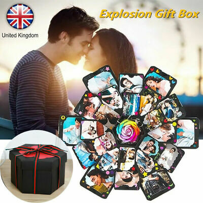 Surprise Explosion Box Creative Birthday Gifts Photo Album Memory Scrapbook DIY