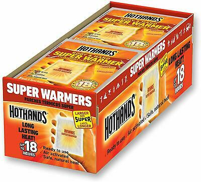 HotHands Body & Hand Super Warmers Up to 18 Hours of Heat -40 Individual Warmers