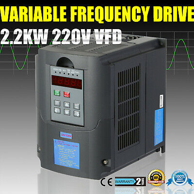 2.2Kw 220V Hq Vfd Variable Frequency Drive Inverter 3Hp 10A
