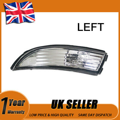 2008-2014 2X Right /& Left Side Wing Mirror Indicator Light For Ford Fiesta New