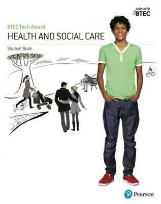 BTEC Tech Award Health and Social Care Student Book NEW Baker Brenda