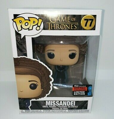 Funko Pop! Game Of Thrones Missandei OFFICIAL NYCC 2019 Exclusive