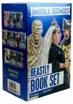 Horrible Histories Foiled Classic Editions NEW Deary Terry
