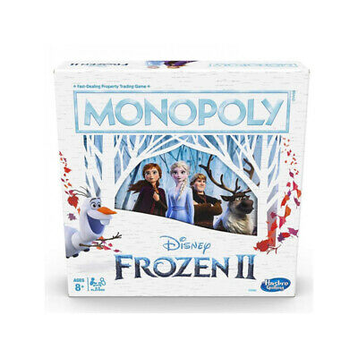 Hasbro Monopoly Game Disney Frozen II 2 Hong Kong Edition Sealed