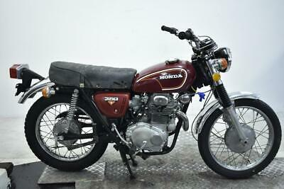 1972 Honda CL350K4 Unregistered US Import Barn Find Classic Restoration Project