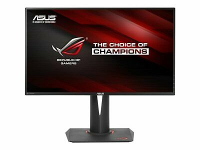 "NEW! Asus PG279Q Rog Swift  Led Monitor 27"" 2560 X 1440 Qhd Ips 350 Cd/M² 1000:1"