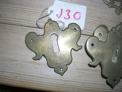 Antique Brass Escutcheon (J30)