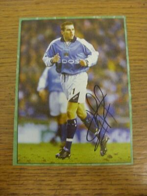 2000-2003 Autograph(s): Manchester City - Darren Huckerby [Hand Signed Colour Ma