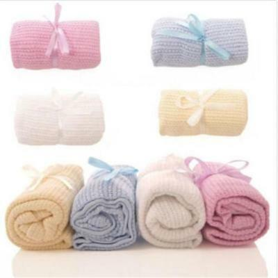 Blanket Swaddling Newborn Thermal Soft Baby Bedding Stroller Cotton Quilt Gift W