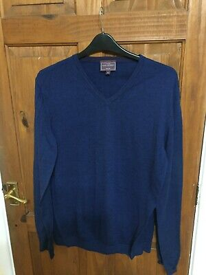 mens john lewis pure merino wool jumper size xl