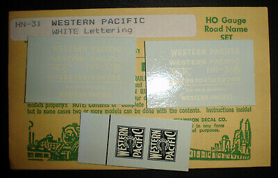 Champ decals HO HN-65  Grand Trunk Western road names   H129