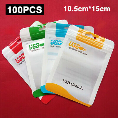 Plastic Hang Hole Bag Matte Ziplock Bags Retail Packaging Pouch For Accessories
