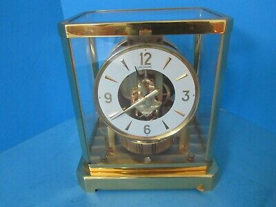 Jaeger Le Coultre Atmos Perpetual Clock 528-8 Sn 299030