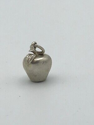 Tiffany & Co Silver 925 Apple Big Apple Charm Pendant NO Chain