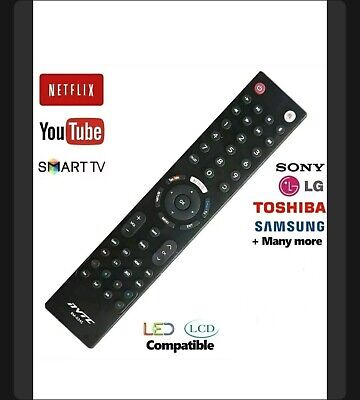 Universal Remote Control For All Devices Perfect UK TV Replacement Controller