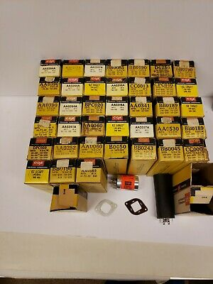Vintage Lot of 41 Unused Cornell-Dubilier Electrolytic Can Capacitors - NOS
