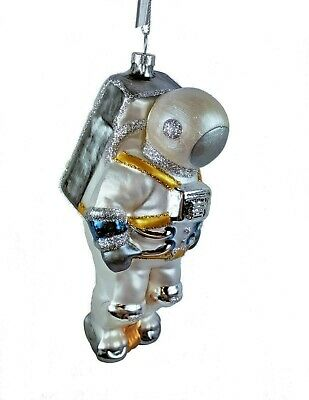 Midwest CBK Astronaut Glass Christmas Ornament~Space Exploration Apollo~23~NASA