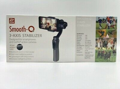 Zhiyun Smooth-Q 3-Axis Handheld Gimbal Stabilizer for Smartphone/GO PRO (black)