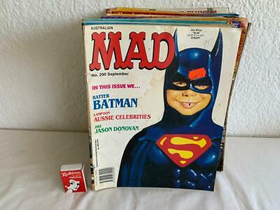 Collectable Vintage 34Pc  Mixed  Mad Comic Magazines .