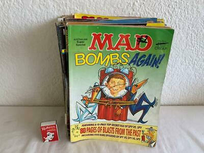 Collectable Vintage 30Pc  Mixed  Mad Comic Magazines .