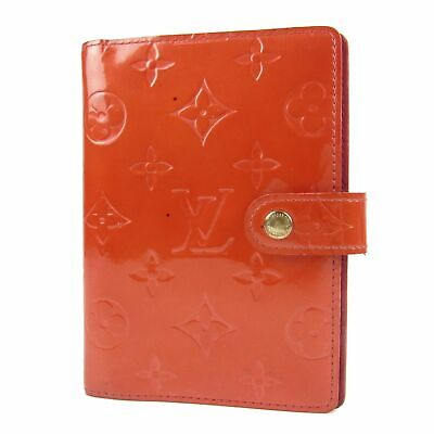 Sale! Auth LOUIS VUITTON Vernis Agenda PM Daily Planner Cover 8680bkac