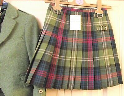 Boys Kilt Outfit - Ancient Sutherland - Duncan Chisholm  Wool- 6-8 Yrs See Sizes