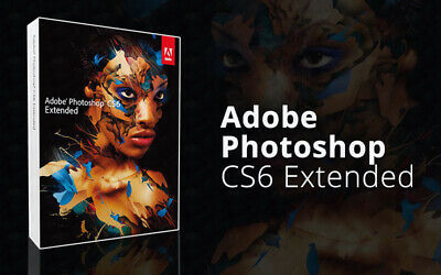 PHOTOSHOP🔐 CS6 EXTENDED✔LIFETIME KEY✔ FAST DELIVERY For WINDOWS