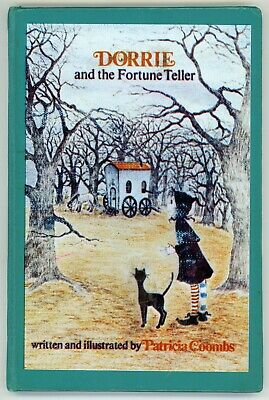 DORRIE AND THE FORTUNE TELLER Patricia Coombs HB vtg little witch book