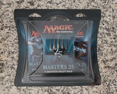 MTG MAGIC THE GATHERING MASTERS 25 BOOSTER 3 blister pack.  Factory Sealed!