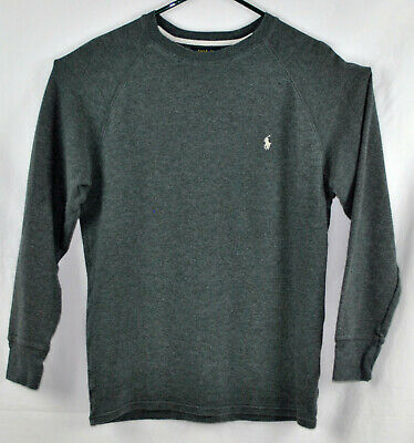 Polo Ralph Lauren  100%  Cotton Thermal Style Long Sleeve Shirt SZ Large