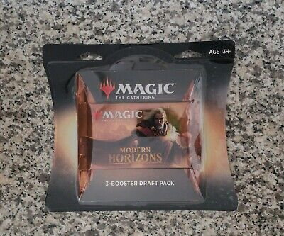 MTG MAGIC THE GATHERING Modern Horizons BOOSTER 3 blister pack.  Factory Sealed!